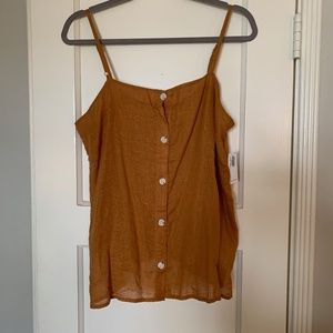 NWT Old Navy Button Tank